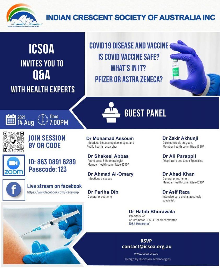 2021 08 14 ICSOA Covid Event 1